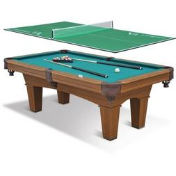 "EastPoint Sports 87"" Sinclair Billiard Pool Table with 3-Pie"
