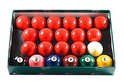 "Aramith 2-1/4"" Snooker Billiard/Pool Balls, Complete 22 Ball"