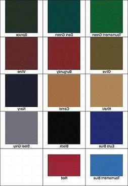 New 8' Proform High Speed Pool Table Cloth Felt - Euro Blue