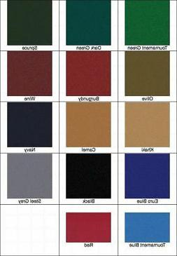 New 8' Proform High Speed Pool Table Cloth Felt - Khaki - Sh