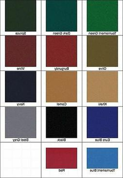 New 8' Proform High Speed Pool Table Cloth Felt - Camel - Sh