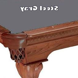 7' Steel Gray ProLine Classic 303 Billiard Pool Table Cloth