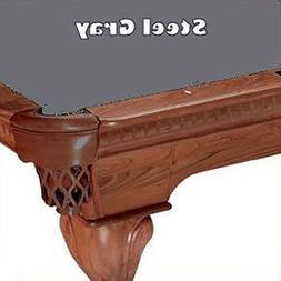 8' Steel Gray ProLine Classic 303 Teflon Billiard Pool Table