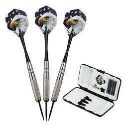 Fat Cat Support Our Troops Steel Tip Darts with Storage/Trav