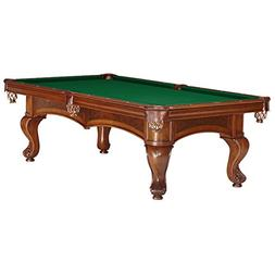 8FT. Brunswick Sutton Chestnut Pool Table with Delivery & In