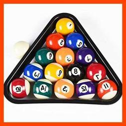 T&R sports USA Mini Pool Balls Set, 1.5-Inch Billiard Set wi
