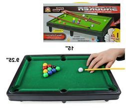 Kole Imports Tabletop Pool Table Game Set