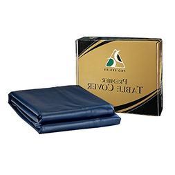 Pro Series TC8BL Premier Leatherette Pool Table Cover, Blue,