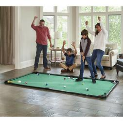 The Billiards and Miniature Golf Crossover Combo Game - The