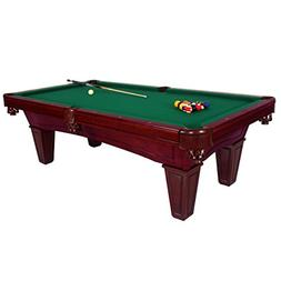Harvil Toscana Black Cherry Slate Pool Table 8-Foot with Gre