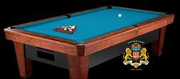 Simonis Tournament Blue Billiard Cloth- 8 Foot Cut