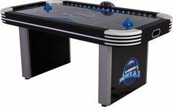 Triumph Lumen-X Lazer 6' Interactive Air Hockey Table Feat