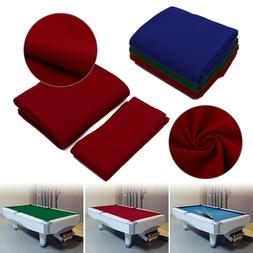 US 7ft 8ft 9ft Worsted Billiard Pool Table Cloth Billiard Fe