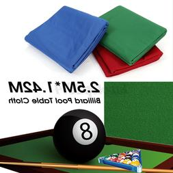 US Professional Billiard Cloth Worsted Felt Mat Cover For Mo