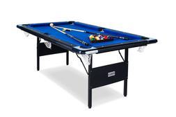 Rack Vega Foldable 6-Foot Billiard/Pool Table, Includes Comp