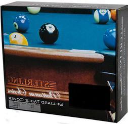 Vinyl Deluxe Heavy-Duty Pool Table Cover 7ft 8ft 9ft black b