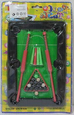 YU JIE VTG 80's 7'' POOL TABLE SKILL ACTION GAME MOSC SEALED