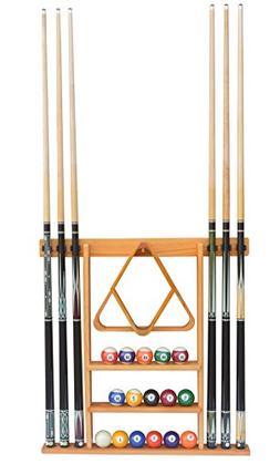 Flintar Wall Cue Rack, Stylish Premium Billiard Pool Cue Sti