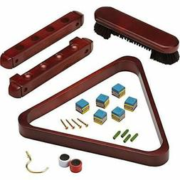 Fat Cat 2-Piece Wall Mounted Billiard/Pool Cue Rack and Acce